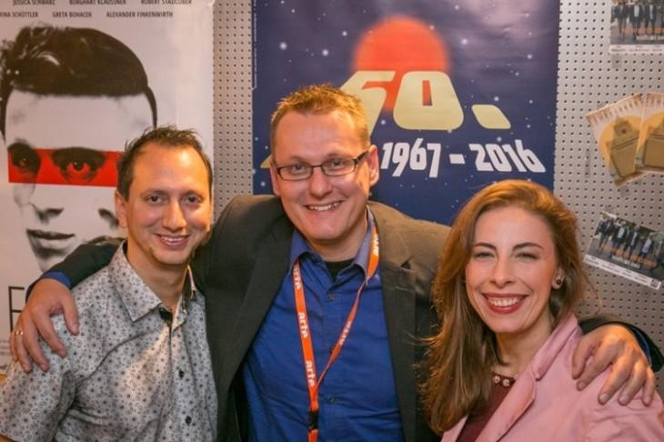 BLOCKBUSTER beim/at the 50. International Film Festival in Hof/Germany