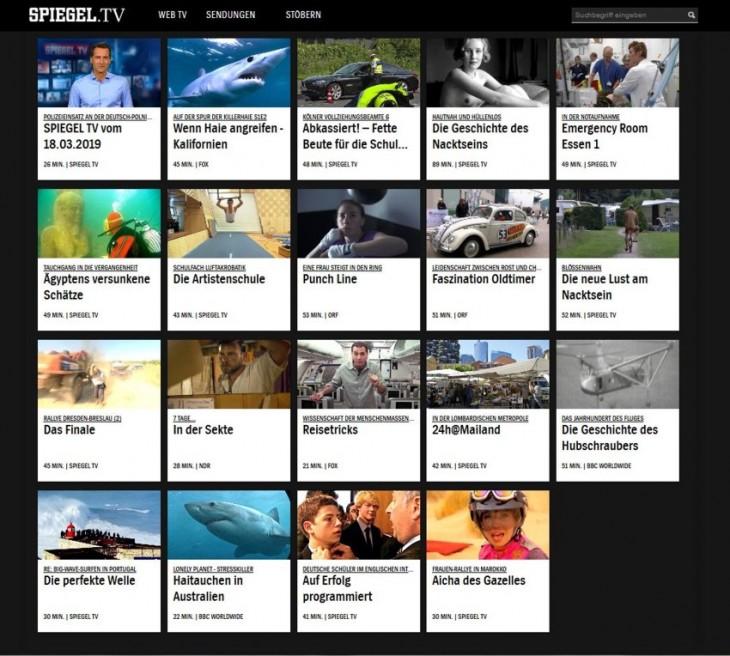 Punch Line under the Top 20 at Spiegel.TV